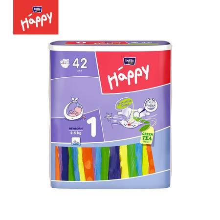 欧洲进口Bella Baby Happy贝拉婴儿纸尿裤/尿不湿/尿片 1号42片
