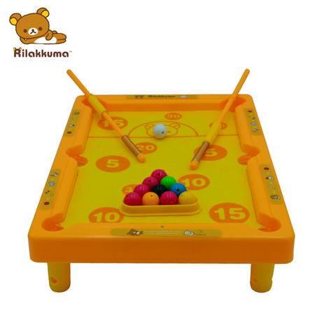轻松小熊宝宝益智玩具 轻松小熊 迷你桌球套装 早教玩具