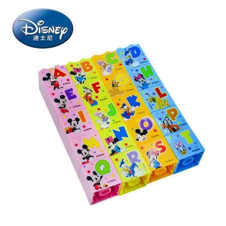 港版Disney迪士尼米奇版 儿童卡通识字积木20块