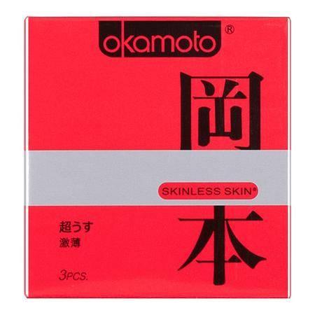 冈本避孕套极限超薄激薄安全套3片 安全套 原装进口Okamoto冈本避孕套极限超薄激薄安全套3片