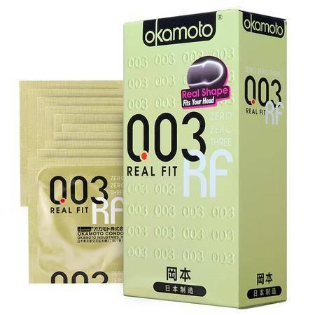 冈本避孕套003超薄黄金10片装 安全套 原装进口Okamoto