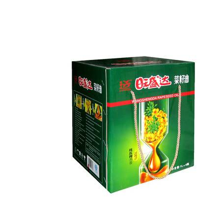 1L*4旺盛达纯压榨菜籽油