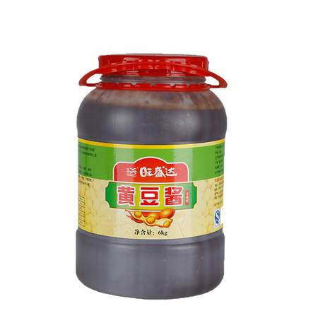 6kg旺盛达原味黄豆酱