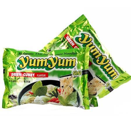 养养 yumyum青咖喱面 70g 泰国进口 泡面方便面