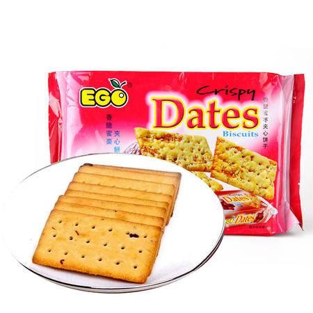 馬來西亞進口 EGO香脆夾心餅幹220g 葡萄/烏梅 两口味可選