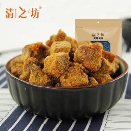 清之坊台湾风味XO酱烤猪肉粒XO肉食200g*2包零食牛肉风味休闲零食