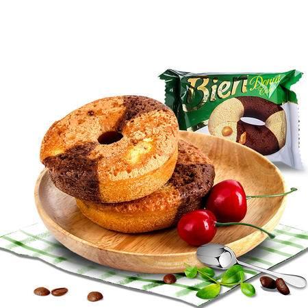 土耳其进口零食simsek焦糖味酱夹心甜甜圈状蛋糕50g