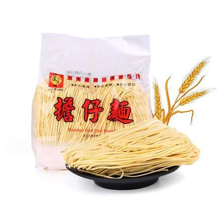 台湾进口度小月荞麦面500g 手工制造 香Q可口 挂面待煮面零食