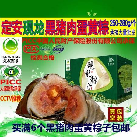 海南特产 定安粽子 现龙 海南定安黑猪肉蛋黄粽子10个装-PK 嘉兴-儋州-万宁粽