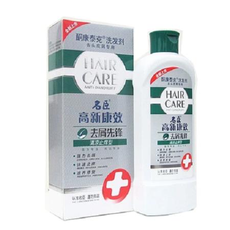 名臣高新康效酮康洗发水/清凉止痒型400g