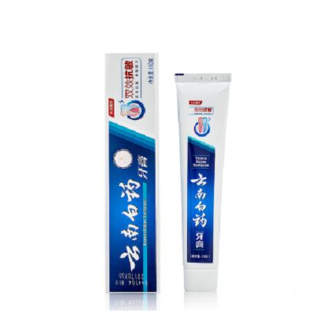 云南白药双效抗敏牙膏110g