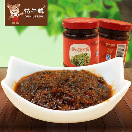 马齿苋酱 采用野生马齿苋 原产地优良 开胃下饭146G