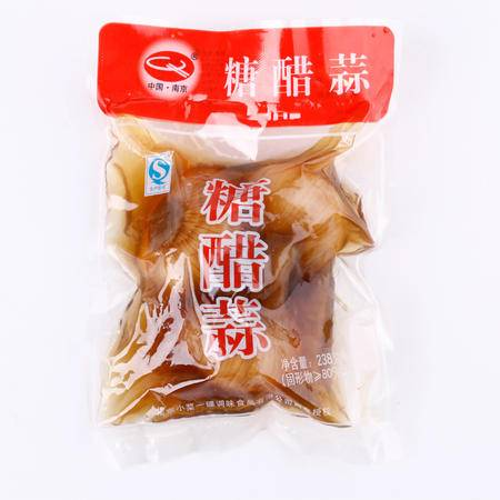 牯牛峰酱菜 小菜一碟糖醋蒜 开胃下饭酱菜 农家自制238g