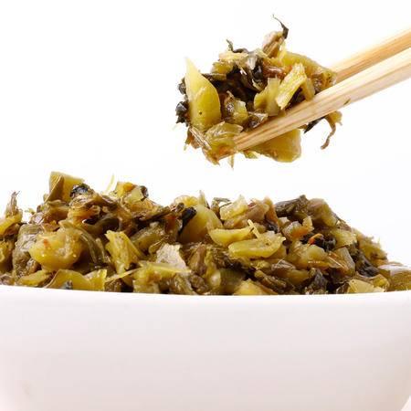 牯牛峰酱菜 小菜一碟雪菜榨菜 开胃下饭饭扫光酱菜 200g