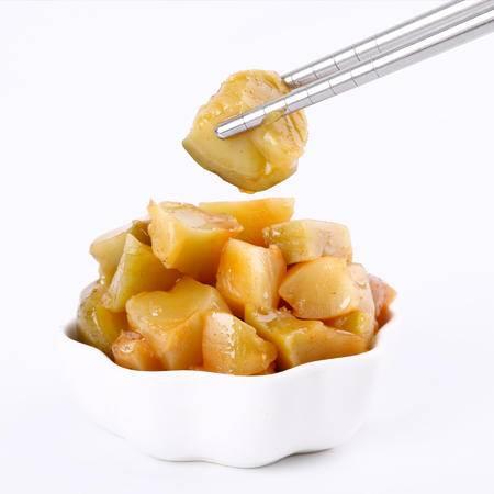 牯牛峰酱菜 小菜一碟小菜酱菜 榨菜芯128g 饭菜特产食品
