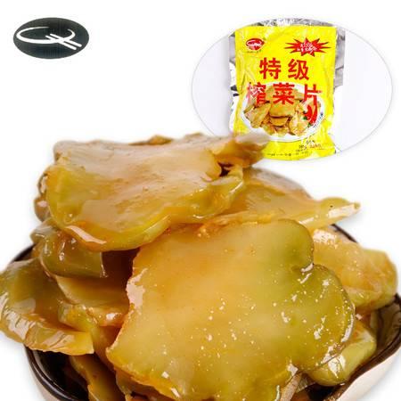 牯牛峰 牯牛峰酱菜榨菜片   徽州特产  酱菜 榨菜咸菜小菜可口下饭下酒菜160G