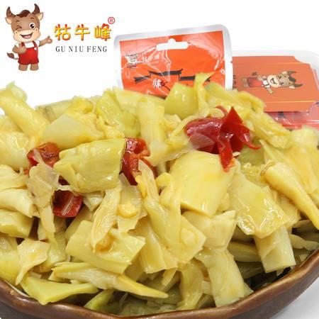 牯牛峰酱菜 小菜一碟酱菜蕌头 皖南特产 农家自制腌制泡菜(一盒装)26g*6袋