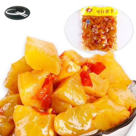牯牛峰酱菜 可口萝卜   徽州特产  酱菜 榨菜咸菜小菜可口下饭下酒菜200G