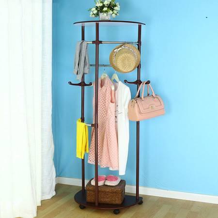 宝优妮卧室衣帽架衣服架创意 门厅衣服架时尚大衣架客厅挂帽架