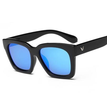 梵妮莎  时尚复古韩版潮款男女通用彩膜偏光太阳镜2838-M