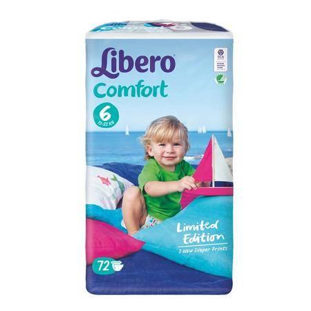进口丽贝乐纸尿裤 婴儿纸尿裤 宝宝尿不湿 6号XL72片