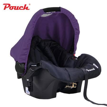 Pouch新生儿汽车安全座椅 德国品质车载婴儿提篮婴儿睡篮摇篮Q17