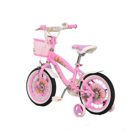 途锐达小麋鹿3岁以上儿童自行车14寸宝宝小孩自行车男女
