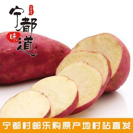 【电商公益扶贫】宁都农家自种有机红薯地瓜2500g包邮