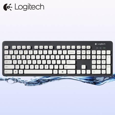 罗技K310 防水水洗USB有线键盘笔记本台式电脑