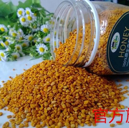 方德蜂园 采安庆大别山蜂花粉、茶花粉、纯天然花粉