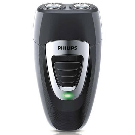 飞利浦(PHILIPS)充电式电动剃须刀PQ189 双刀头胡须刀 自动研磨进口刀头 刮胡刀