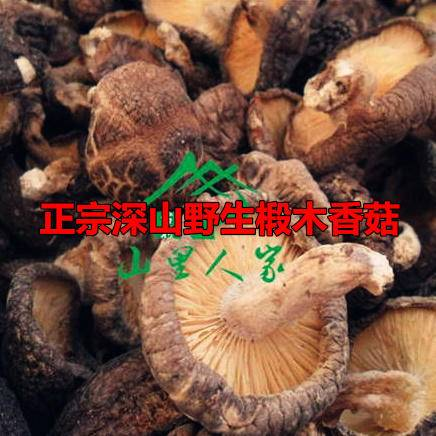 深山野生椴木香菇散装2件包邮26省自产特级冬菇厚菇家用干货