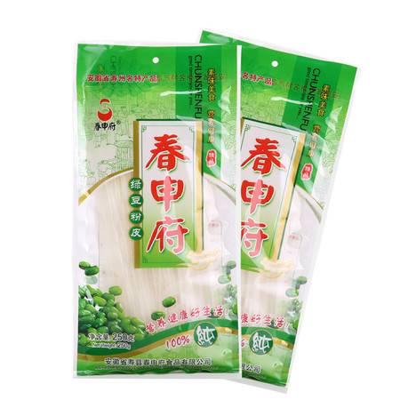 春申府春纯绿豆粉条 农家土特产纯手工制作绿豆粉条宽粉粉皮500g