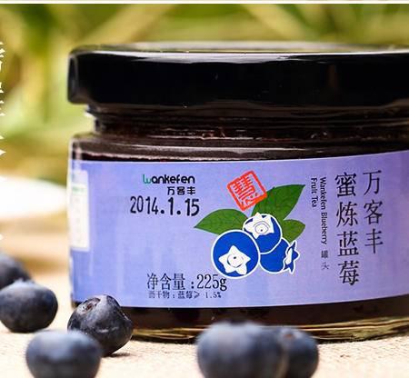 蜜炼蓝莓 蓝莓果茶