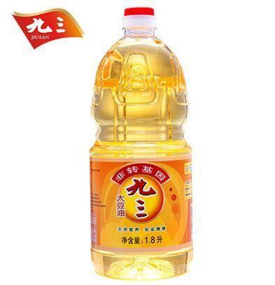 九三 非转基因一级大豆油1.8L*2瓶