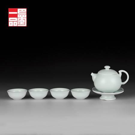巴蜀一品陶瓷茶具西施茶壶套组功夫茶具1壶4杯旅行便携茶具包邮