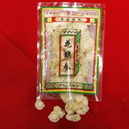 华参堂 西洋参片 东北特产 50g/袋
