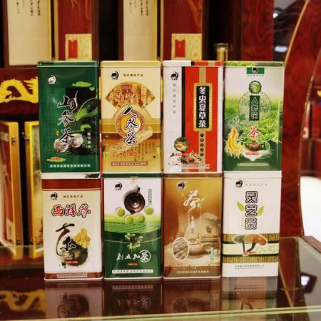 华参堂出品 北森林鹿茸茶 铁盒精包装 150g/盒