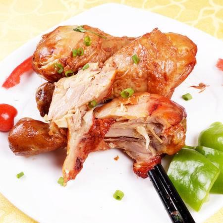 【河北电商】大午烤鸡腿70g*8个美味真空包装休闲零食熟食包邮