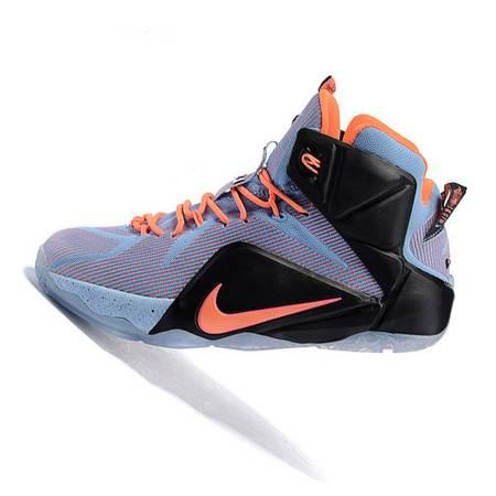 专柜正品NIKE LEBRON 12 詹姆斯LBJ12黑人男子篮球鞋707781