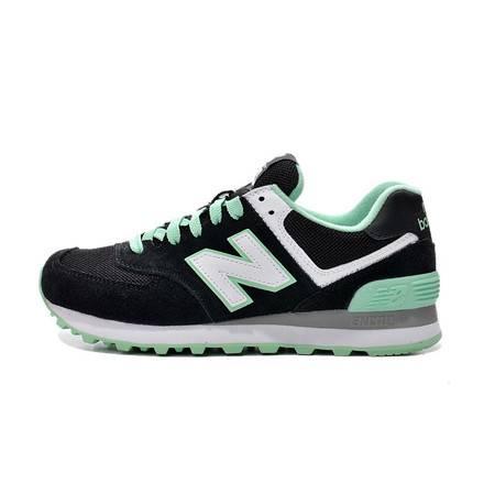 正品代购新百伦女鞋春夏New Balance NB WL574CPC 黑色复古跑步鞋