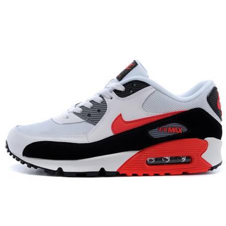 耐克冬季男鞋Nike Air max90情侣气垫跑步鞋增高减震休闲女鞋
