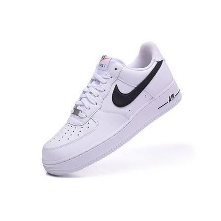 耐克男鞋正品NIKE AIR force 1空军一号AF1板鞋白黑运动鞋