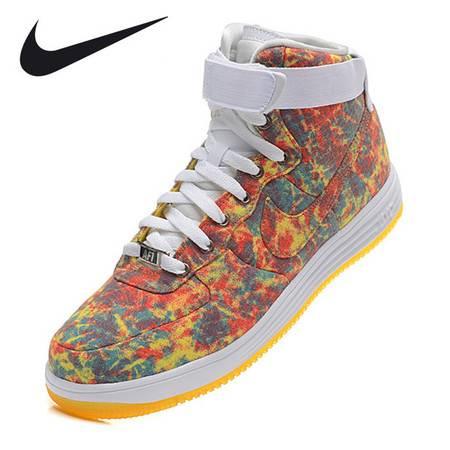 Nike新款耐克男鞋AIR FORCE 1空军一号高帮休闲板鞋af1女鞋高帮情侣运动鞋