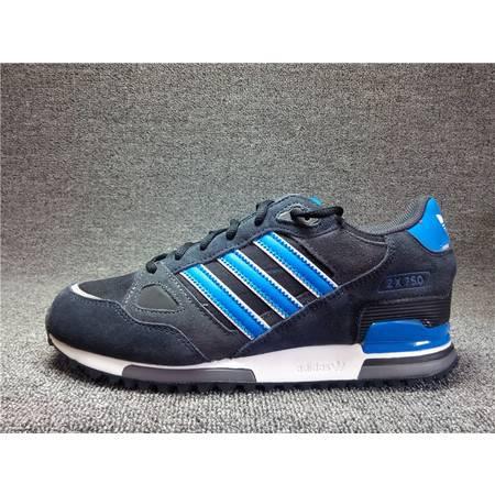 阿迪达斯男鞋新款男子三叶草adidas zx750 跑步鞋运动鞋  M18261