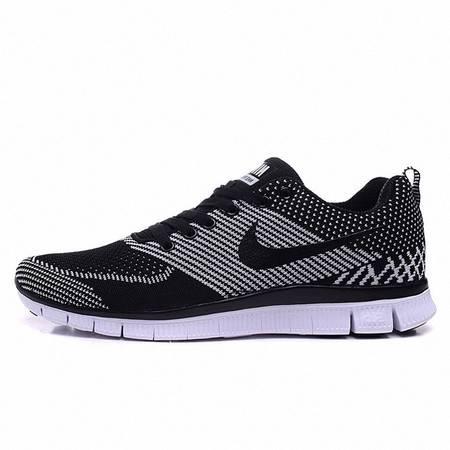 NIKE男鞋夏季Free RN Flyknit赤足5.0网面透气飞线跑鞋女子运动鞋旅游跑步鞋
