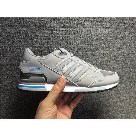 阿迪达斯三叶草新款ZX750男鞋 男子跑步鞋经典休闲运动鞋AF4167