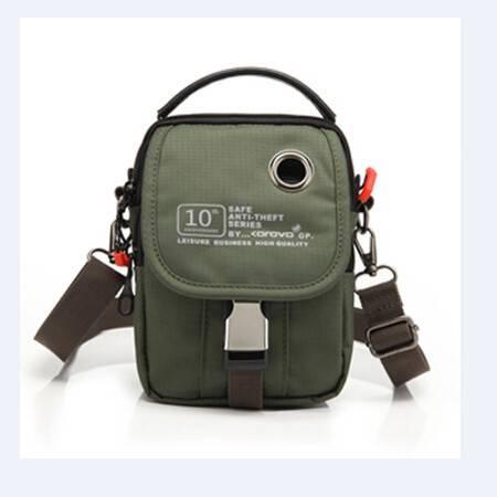 壳罗沃军绿斜跨腰包两用K4X025E9802
