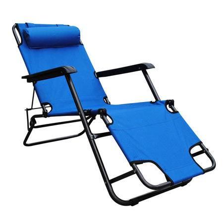 朗琦:经典两用折叠躺椅LQ-5860