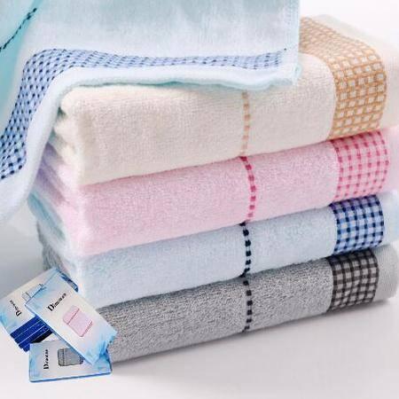 迪穆精品毛巾:素色提缎大毛巾单条装 DM-6001